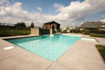 Piscines creus es piscines perrin - Piscine creusee contemporaine tourcoing ...